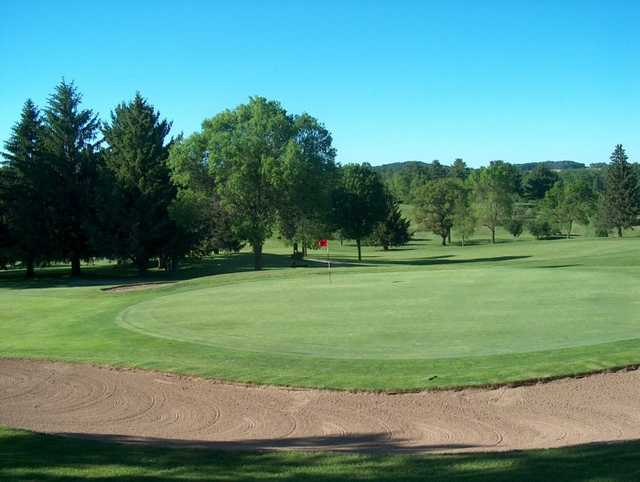 A view of the 4th green at Skyline Golf Course