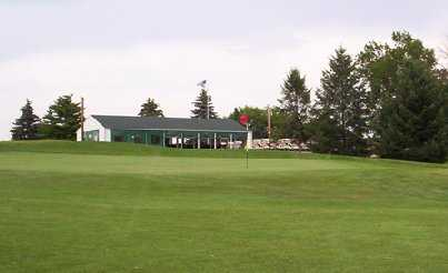 A view of the clubhouse at Delbrook Golf Club