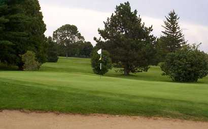 A view from Delbrook Golf Club