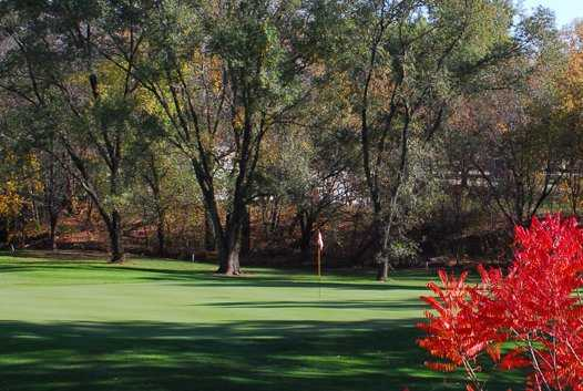 A view of green at Mid Vallee Golf Course