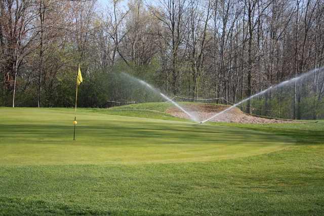 A view of a hole #6 at Highland Ridge Golf Club