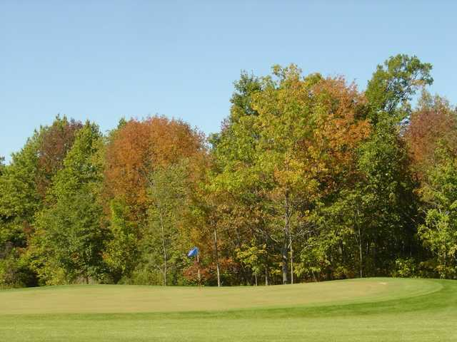 A fall view from Hilly Haven Golf Course