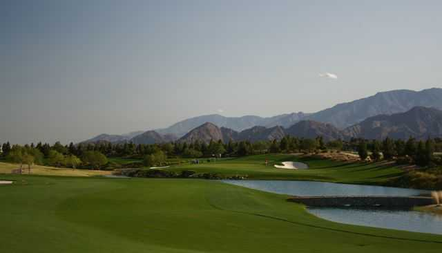 Classic Club's 11th hole in Palm Desert