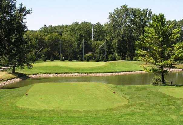 A view from tee #5 at Village Green Golf Course