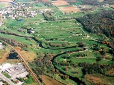 Aerial view from Hon-E-Kor Golf & Country Club