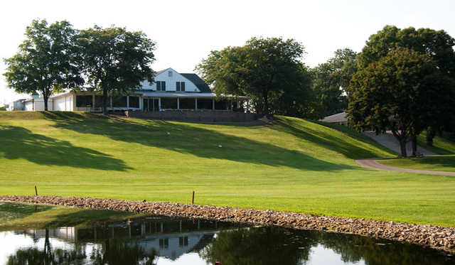 A view of the clubhouse at Forest Hills Golf Course