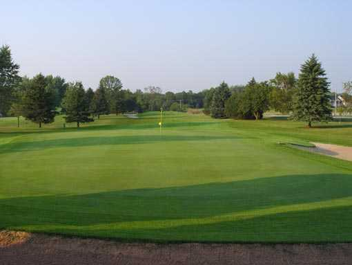 A view of the 11th hole at NorthBrook Country Club