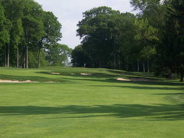 A view of the 1st hole at Maple Bluff Country Club