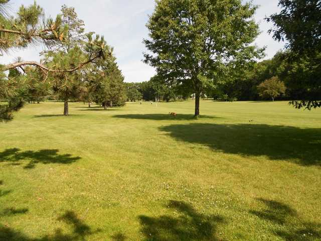 A sunny view from Odana Hills Golf Course