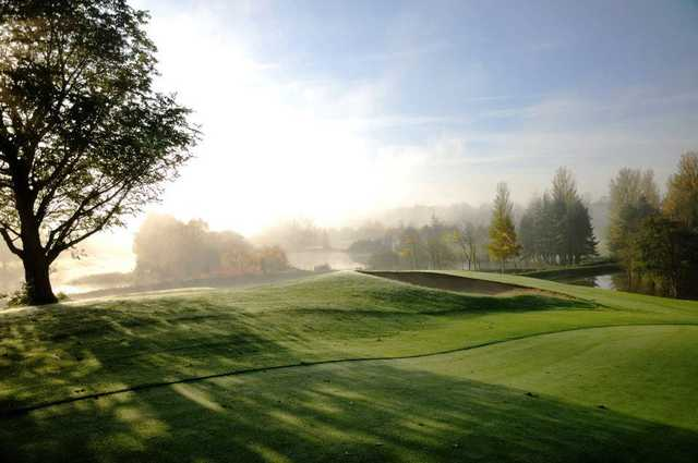 A morning view from Nuremore Golf Club
