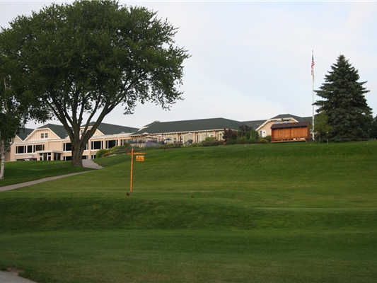 A view of the clubhouse at University Club of Milwaukee