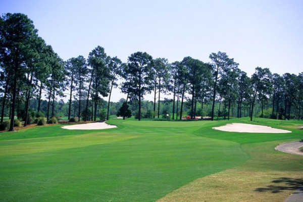 Aerial view from the West course at Myrtle Beach National Golf Club