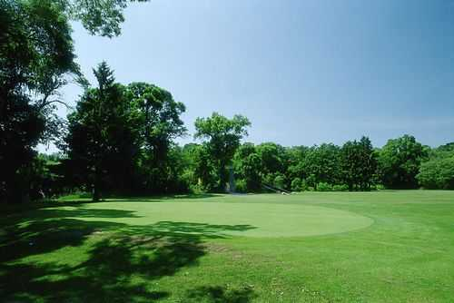 A view of the 7th hole at Washington Park Golf Course