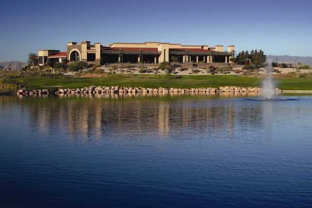 Las Vegas Paiute Golf Resort: Clubhouse view