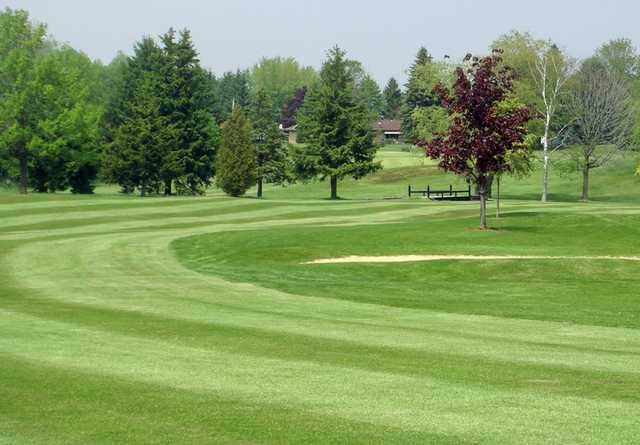 A view of fairway at Riverdale Country Club