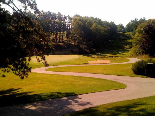 A view of hole #7 at Pine Hills Country Club