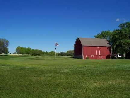 A view of a green at Ives Grove Golf Links