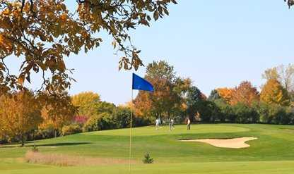 A fall view from Viroqua Hills Golf Course