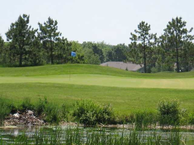 A view of the 10th hole at Foxfire Golf Club
