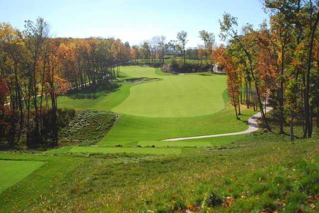 A view from tee #12 at Wild Rock Championship Course from Wild Rock Golf Club