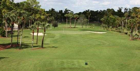 A view of hole #8 at Cypress from Royal Poinciana Golf Club