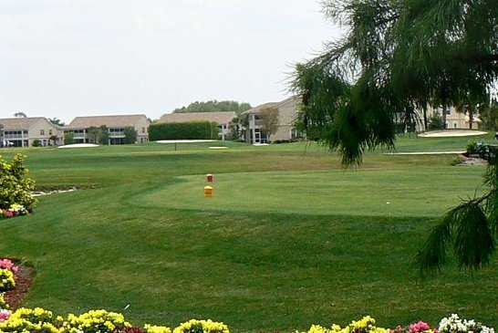 A view of a tee at Glen Eagle Golf & Country Club