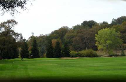 A view from fairway at Black Oak Golf Course