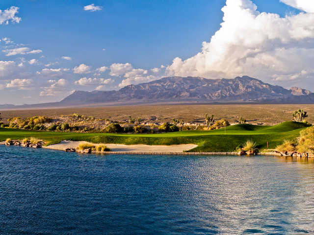 Paiute's Sun: 4th green