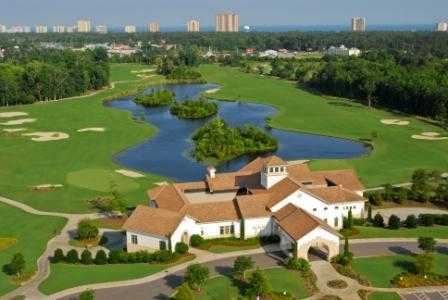 Aerial view of from at Grande Dunes Member Course