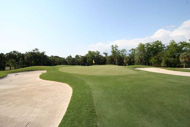 A view of hole #4 at Olde Florida Golf Club
