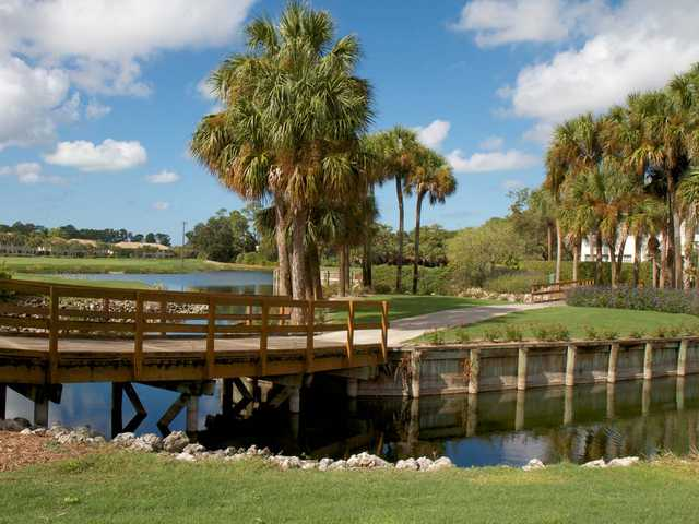 A view over the bridge from Stonebridge Country Club
