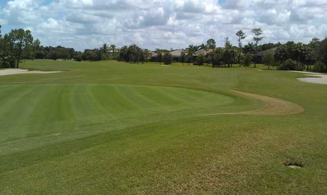 A view of the 17th green's left side at Classics Country Club