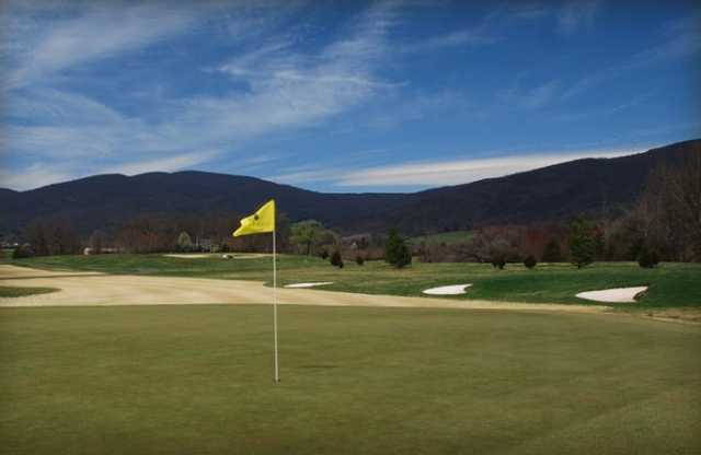 A view of green at Old Trail Golf Club