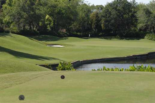 A view from a tees at The Club Pelican Bay