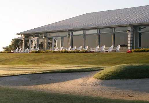 A view of the clubhouse at The Fox Club.