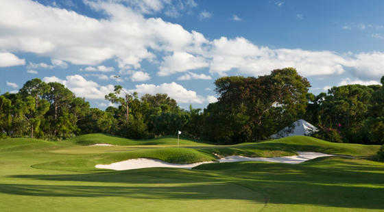 A view of the 16th hole at Monarch Country Club