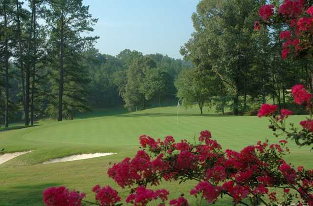 A view of a green at Pine Tree Country Club