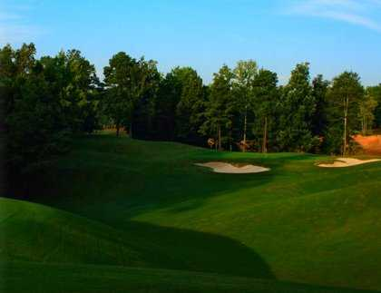 A view of fairway #15 at Ridge from Oxmoor Valley Golf Course