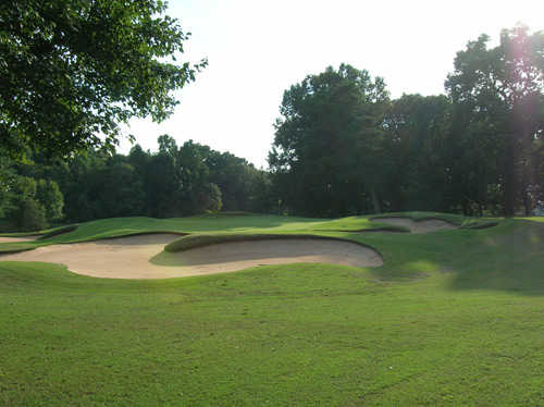 A view of the 1st hole at Championship Course from Tanglewood Golf Club