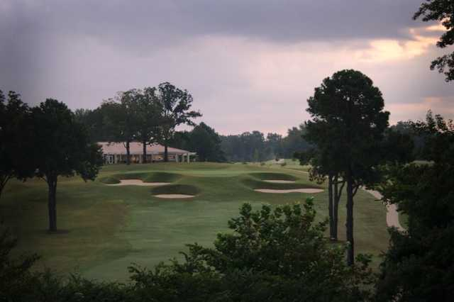 A view from tee #18 at Ole Miss Golf Course