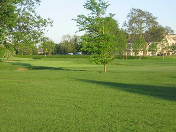 A view of the 18th green at Moate Golf Club