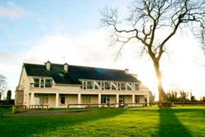 A view of the clubhouse at Moate Golf Club