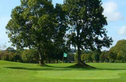 A view of hole #13 at Moate Golf Club