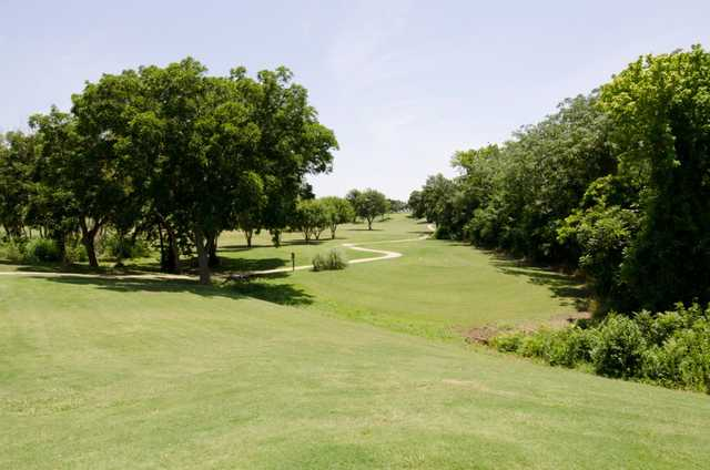A view of fairway at Sammons Park Golf Course
