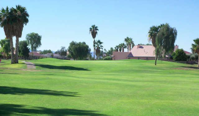 A view from a fairway at Huukan Golf Club