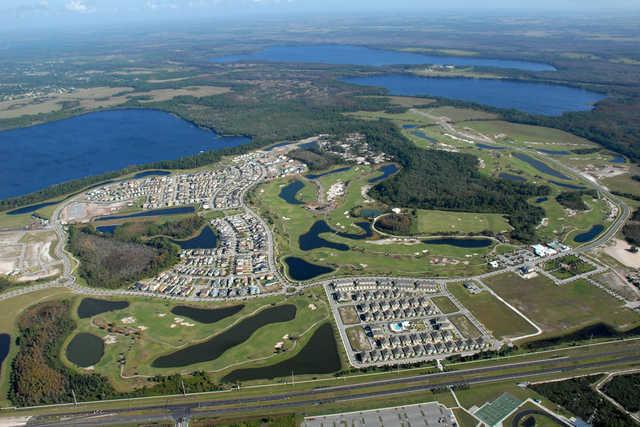 Harmony Golf Preserve: Aerial View