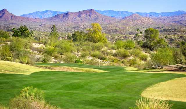 A view of the 15th hole at Wickenburg Country Club.