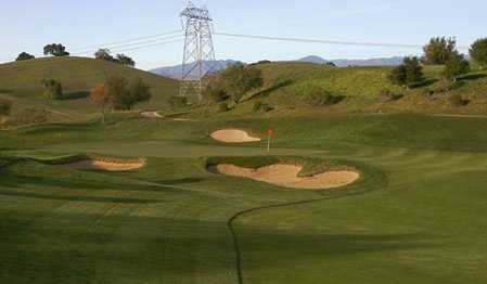 A view of the 1st hole at Mountain Course from Cinnabar Hills Golf Club