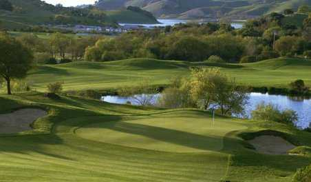 A view of the 5th green at Lake Course from Cinnabar Hills Golf Club