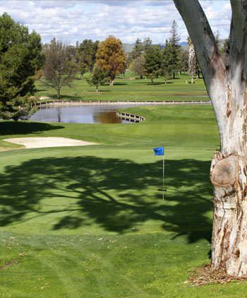 A view of green at Santa Teresa Golf Club